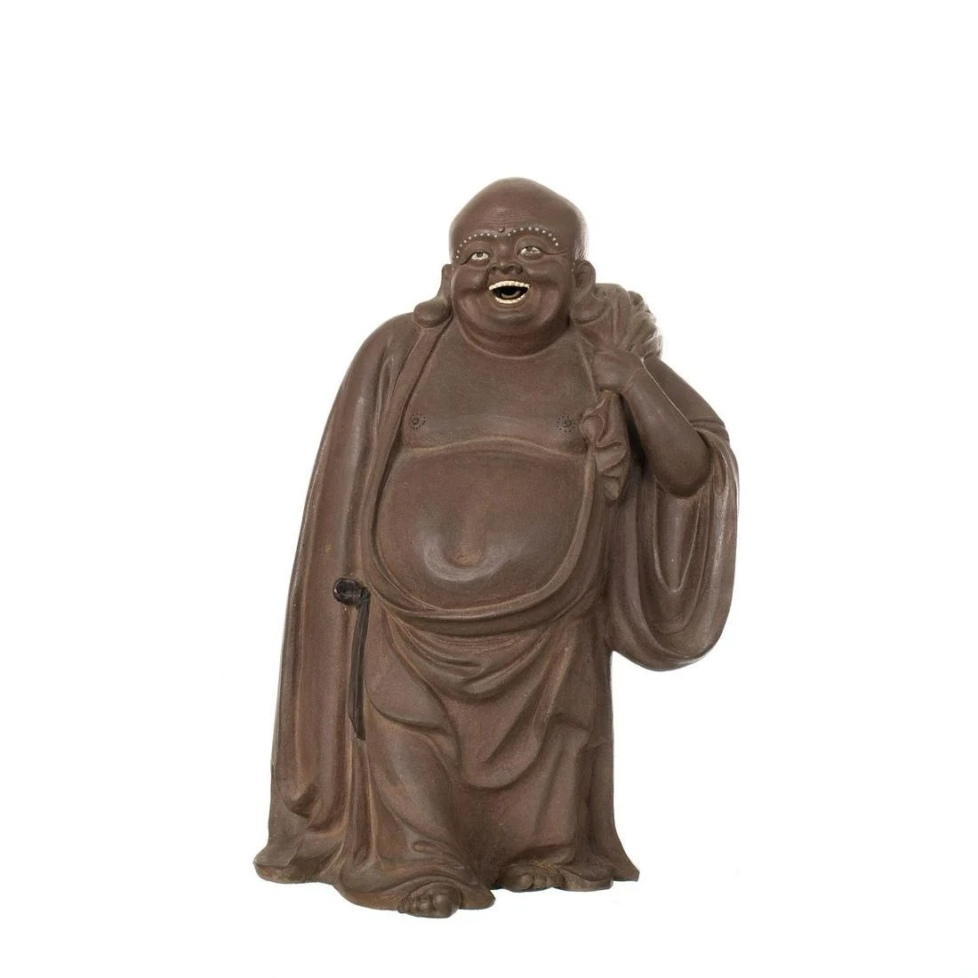 Buddha in Yixing Ceramic