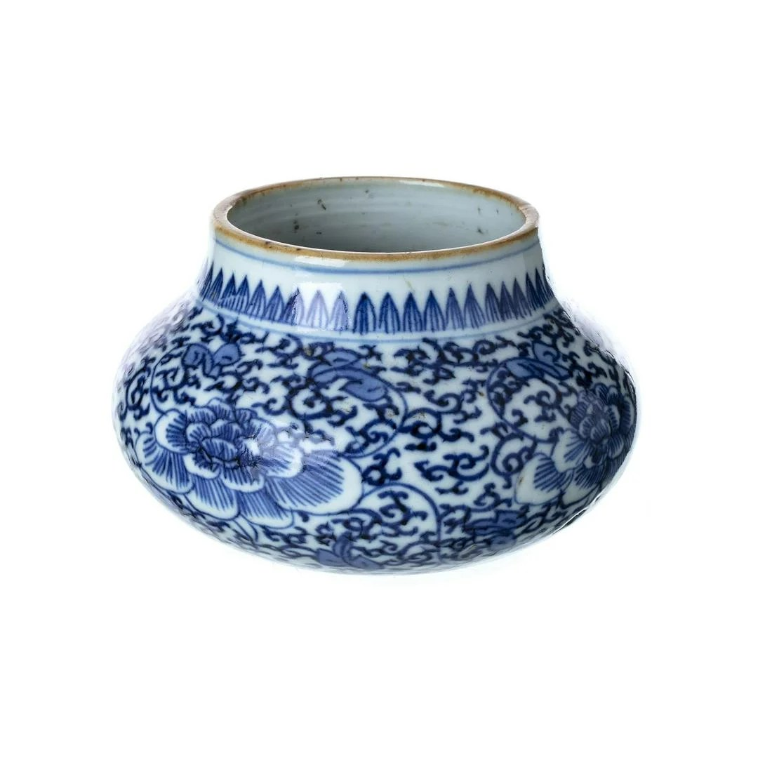 Chinese porcelain brushwasher, Qianlong