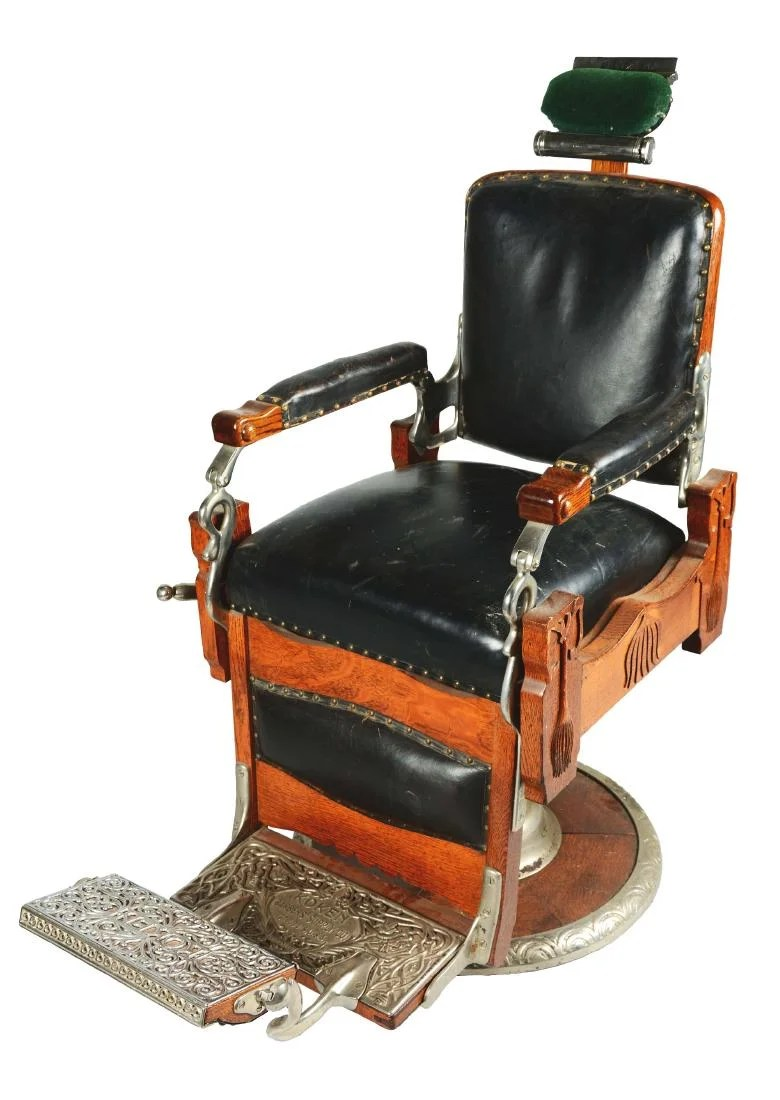 Koken Barber Chairs Koken Barber Chair On Liveauctioneers