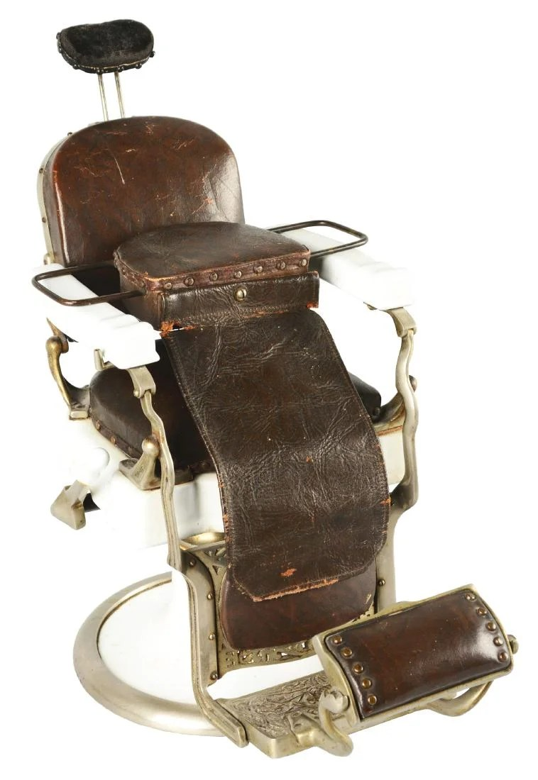 Koken Barber Chairs Salesman Sample Koken Barber Chair Oct 21 2018 Dan Morphy Auctions In Pa On Liveauctioneers