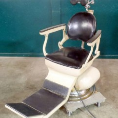 Vintage Dentist Chair Graco High 4 In 1 Weber Dental With Instrument Stand