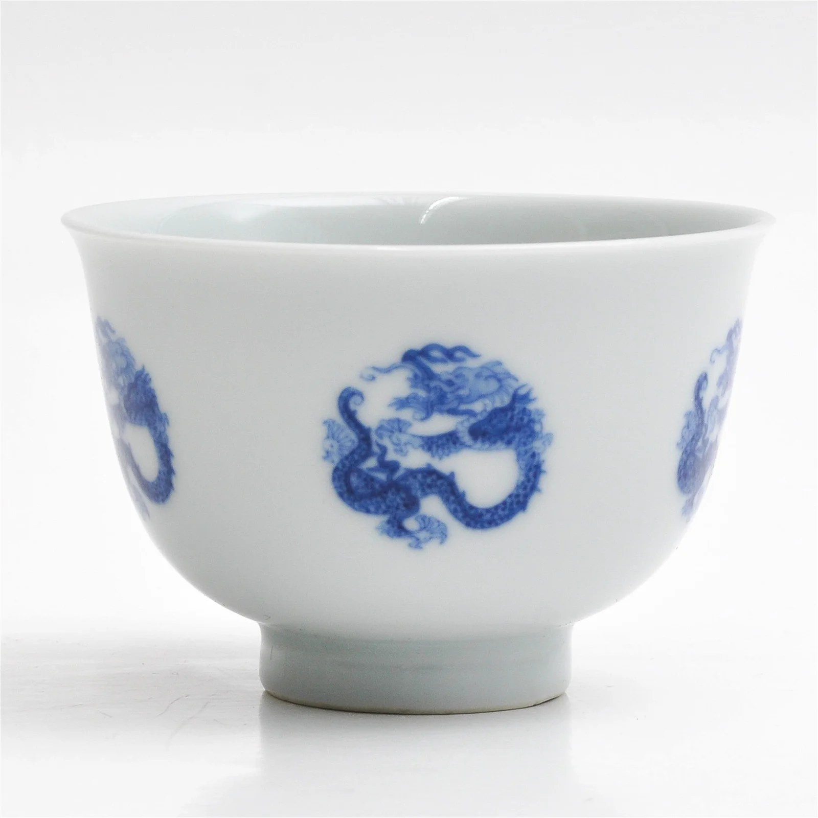 A Chinese Blue and White Cup