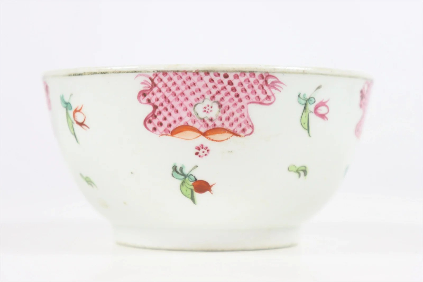 Chinese Export Decorated Bowl