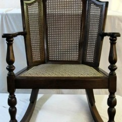 1920s Rocking Chair Wooden Kitchen Chairs Argos 363 A Wing Back Cane Side
