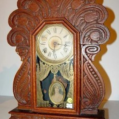 Gilbert Kitchen Clock Ge Appliance Packages 324 Egyptian 63 Tulip Carved