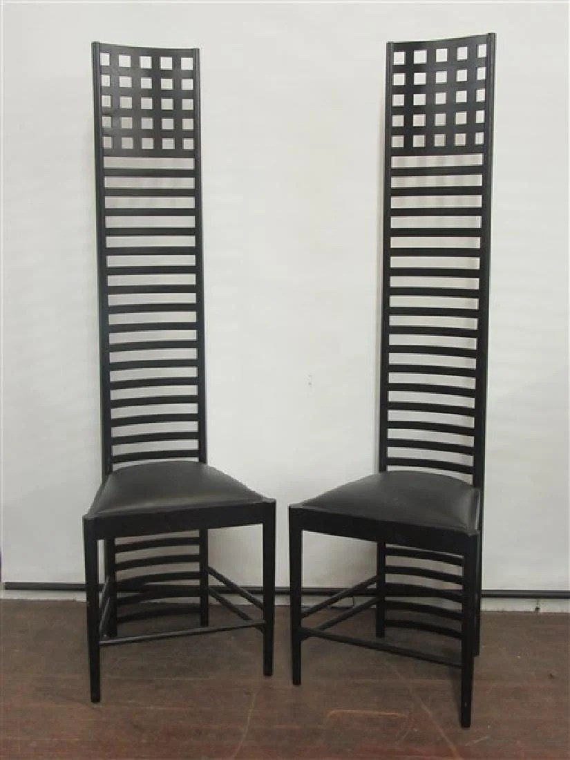 charles rennie mackintosh willow chair covers harrogate prices 162 auction price results hill house chairs