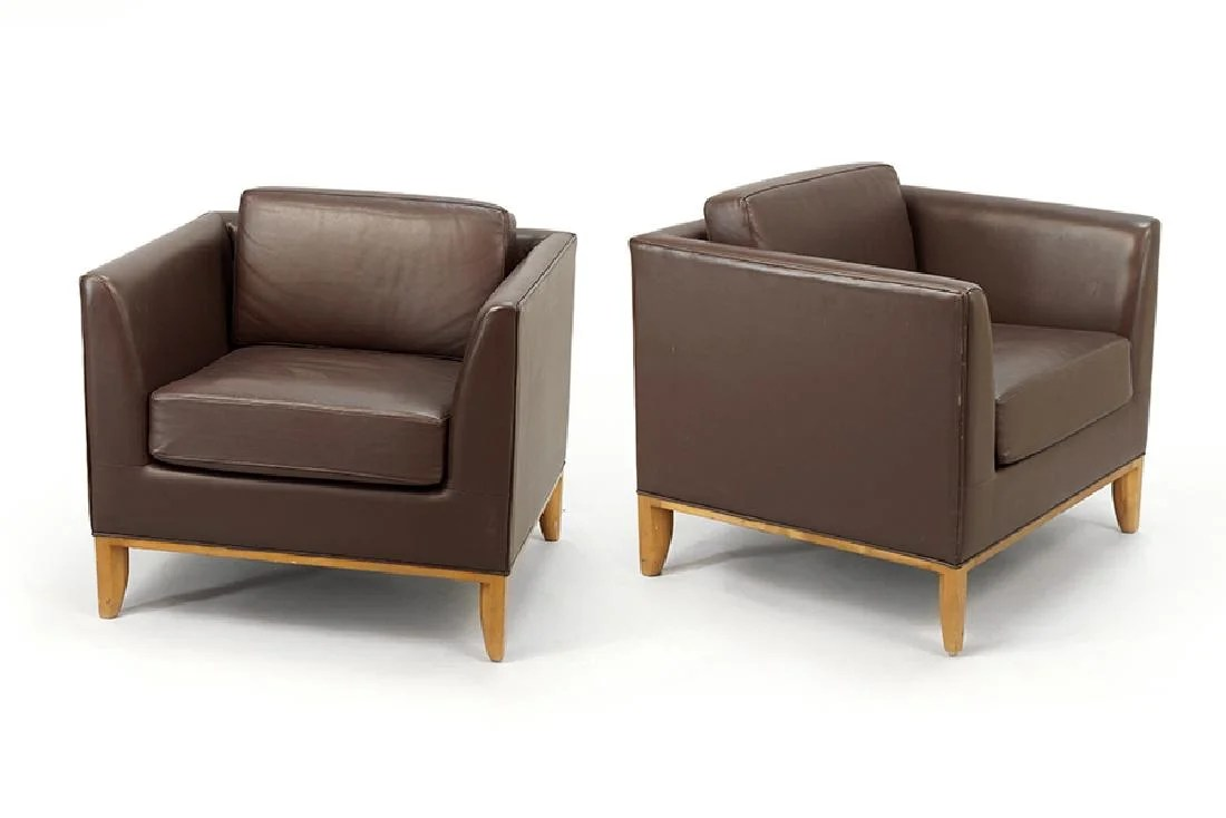bernhardt brown leather club chair tattoo amazon a pair of chairs