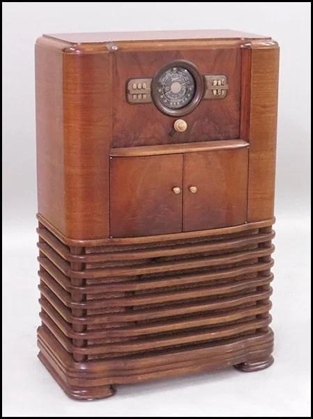 Zenith Console Radio Phonograph