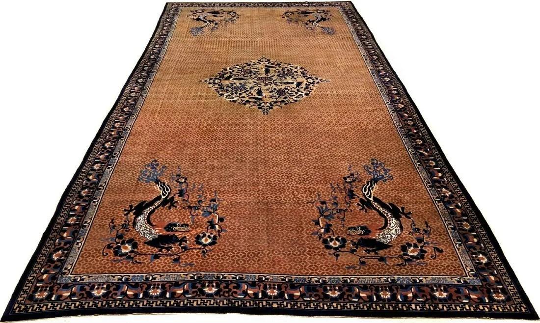 Massive Fine Beijing 'Oversize-Carpet' antik (Dragon),