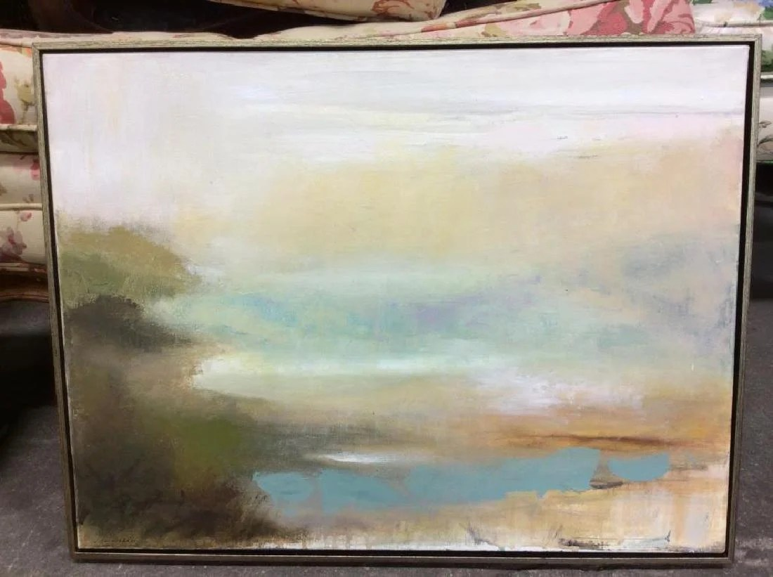 joan badner abstract pastel