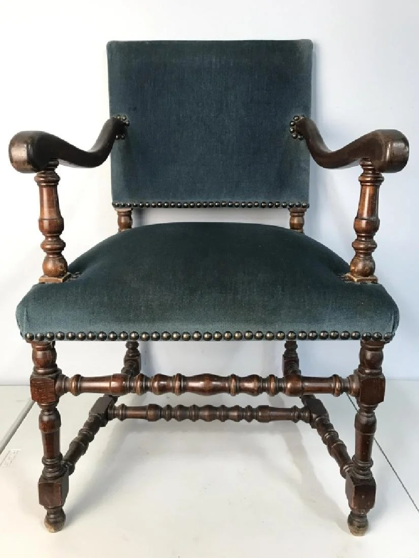 gentlemans chair swivel problems carved mahogany upholstered gentleman s