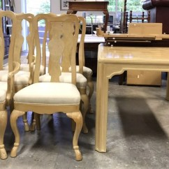 Drexel Heritage Chairs How To Reupholster Dining Corinthian Table 6