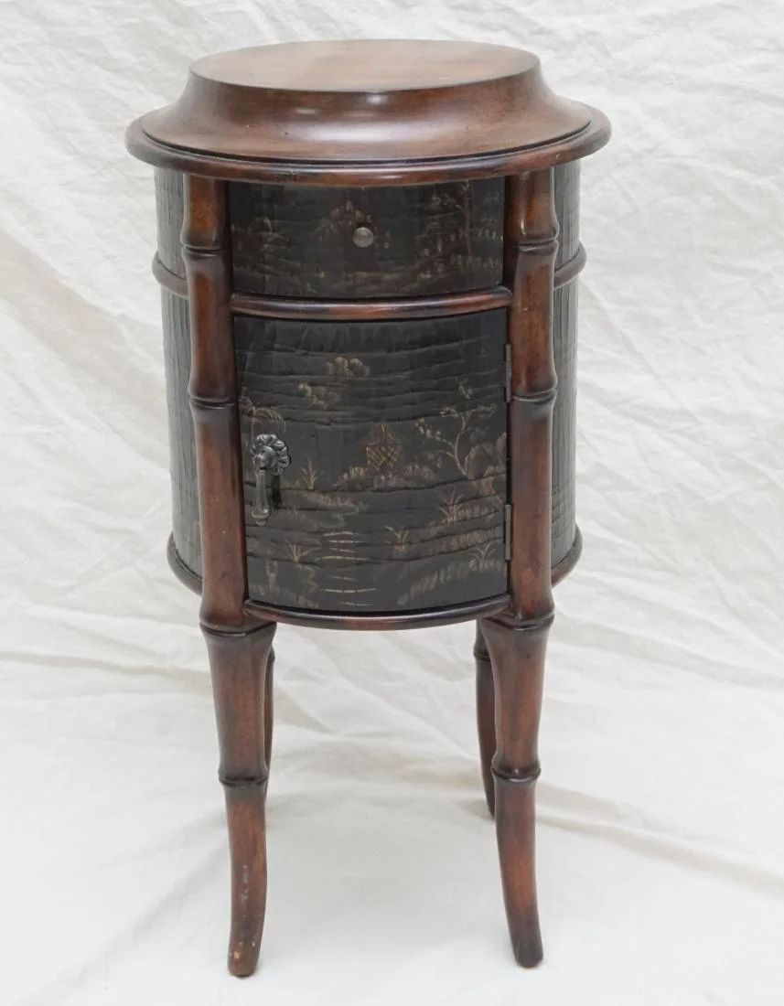 ethan allen chinoiserie table