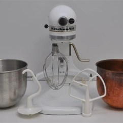 Kitchen Aid K5ss Dishes Set Kitchenaid Heavy Duty Mixer W Copper Bowl