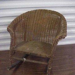 1920s Rocking Chair Chairs Good For Back Problems 256 1920 S Child Wicker