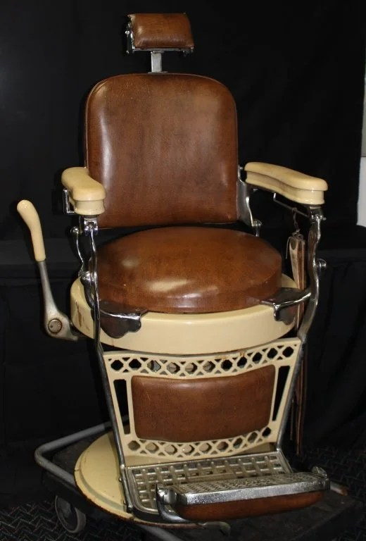antique wood barber chair best baby chairs for toddlers emil j paidar
