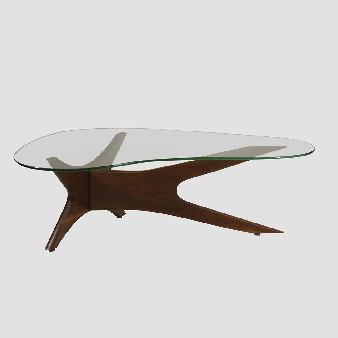 adrian pearsall boomerang coffee table mid century