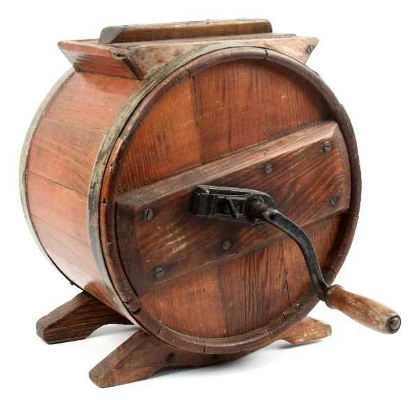 How To Make A Wooden Butter Churn