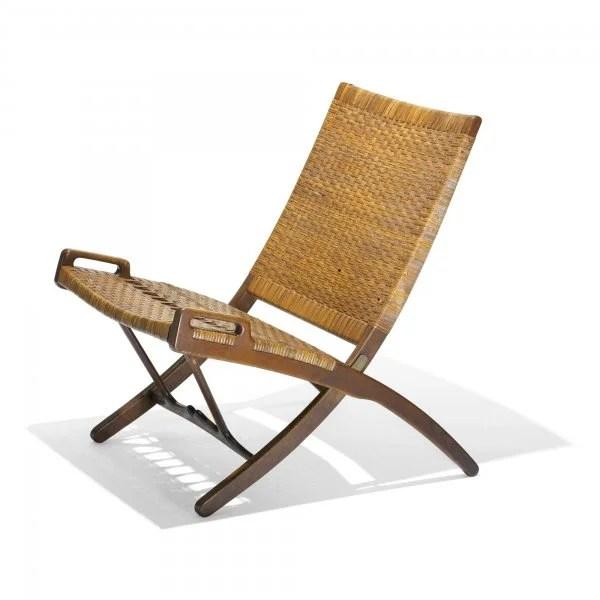 folding chair auction fisher price precious planet high 514 hans wegner model 512