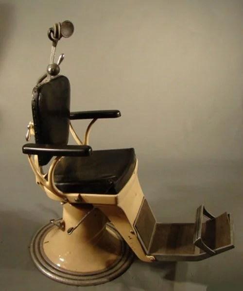 vintage dentist chair small sleeper 1300 dental