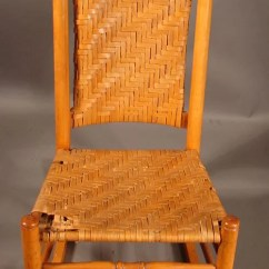 Types Of Rocking Chairs Aeron Chair Sizes 2059 Mottville Type With Woven Splint Se