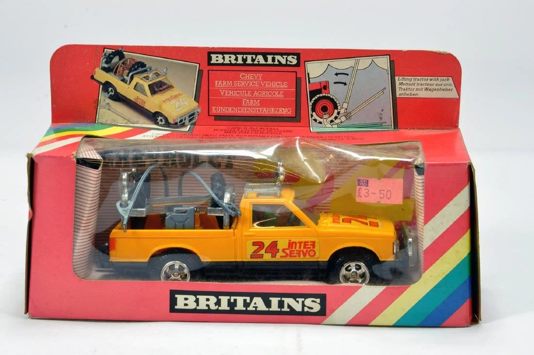 small resolution of britains 1 32 chevy farm service vehicle nm to m in vg feb 07 2019 m m auctions in united kingdom