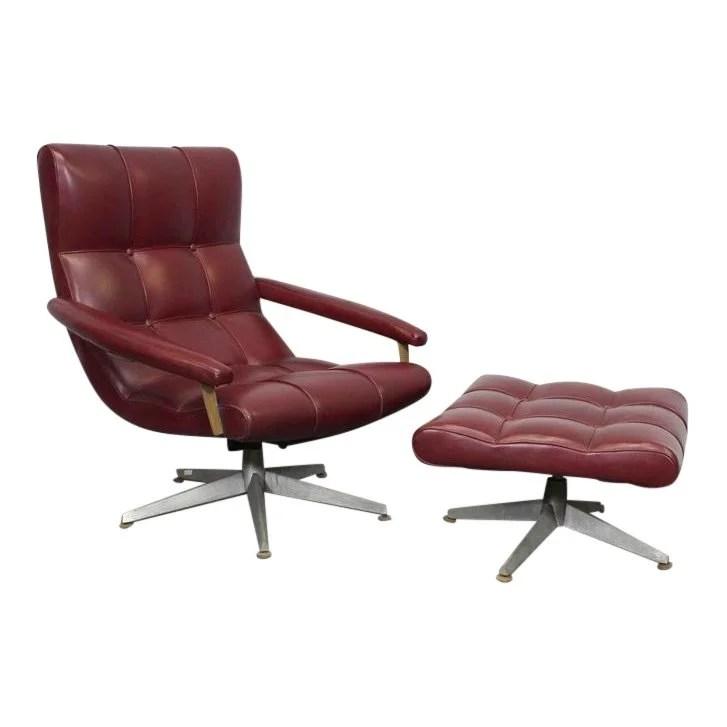 swing chair very tufted swivel barrel elegant 60s vintage italian lounge