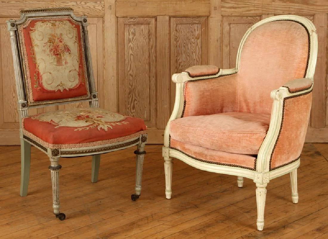 french bergere chair inexpensive banquet covers with aubusson