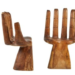 Wood Hand Chair Retro High Pedro Friedeberg Style Carved Chairs 2