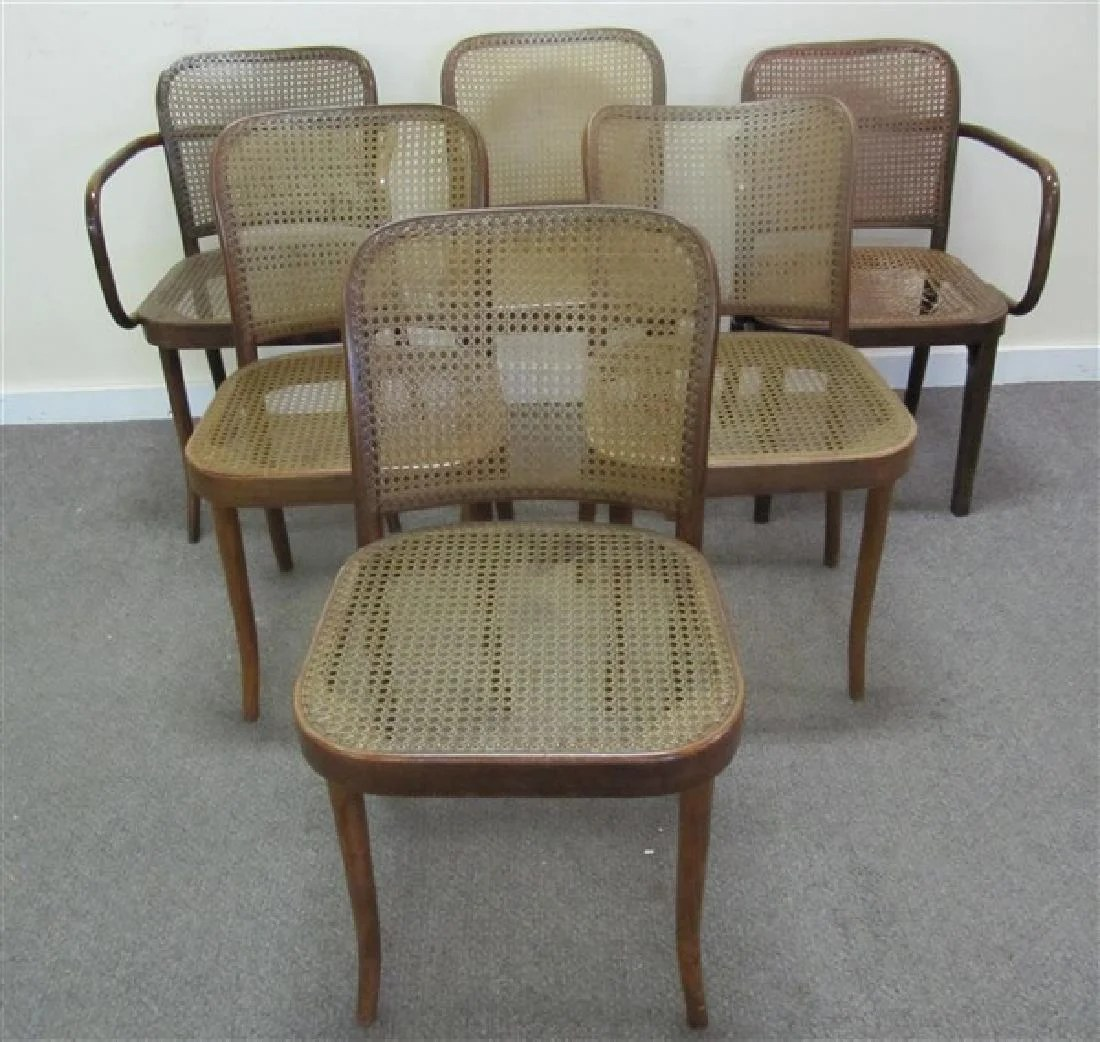 bentwood cane seat chairs office chair vendors 6 stendig 1 damaged