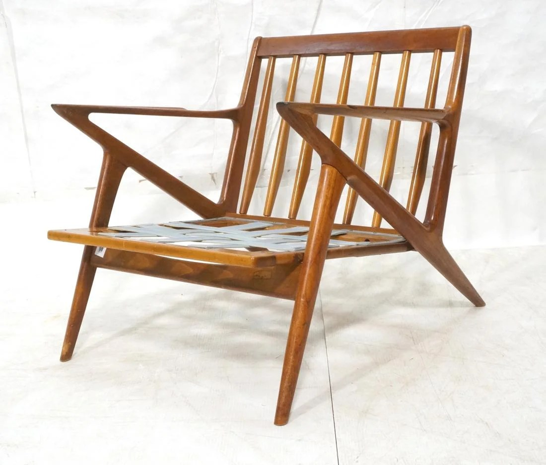 Danish Modern Lounge Chair Poul Jensen Danish Modern Teak Lounge Chair Frame On Liveauctioneers