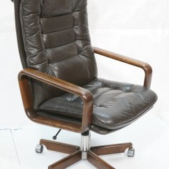 Wood And Leather Office Chair Target Sling Replacement Dyrlund With Arms