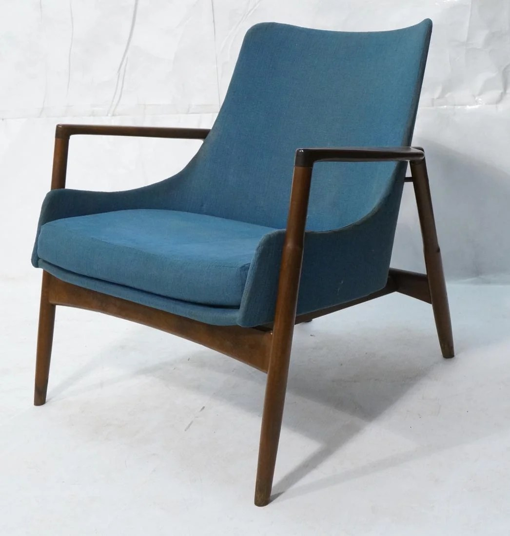 Danish Modern Lounge Chair Kofod Larsen For Selig Danish Modern Lounge Chair On Liveauctioneers