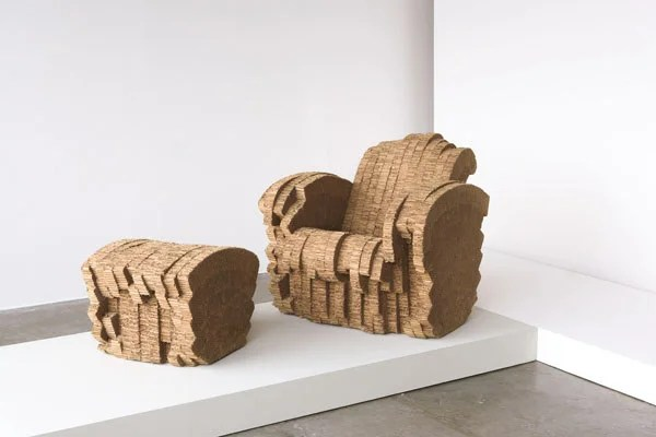 frank gehry cardboard chairs antique gold accent 3210: