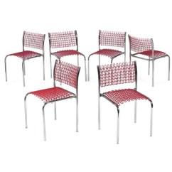 David Rowland Metal Chair Swing Frame 964 Sof Tech Chairs 6 Thonet