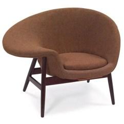 Fried Egg Chair Folding Quad With Adjustable Lumbar Support 862 Hans Olsen By V Birksholm Den