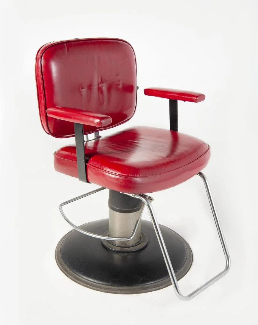 Red Barber Chair Small Red Barber Chair Nov 11 2018 Cordier Auctions Appraisals In Pa On Liveauctioneers