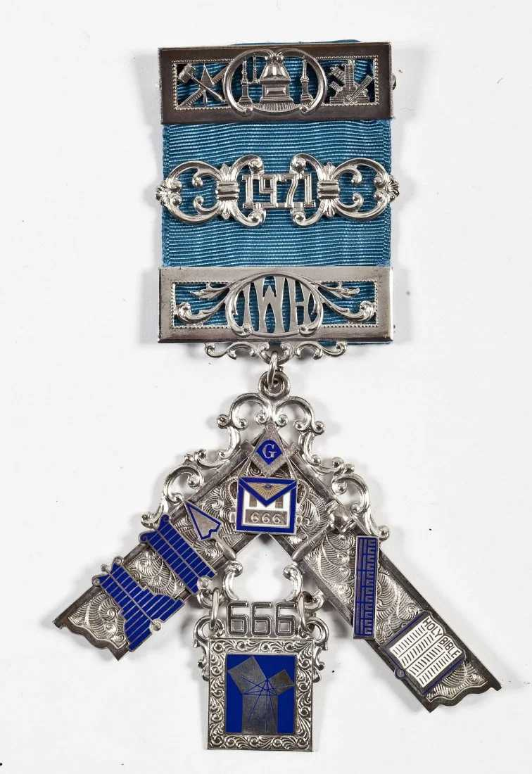 58 1971 Hershey PA Masonic Past Master Jewel
