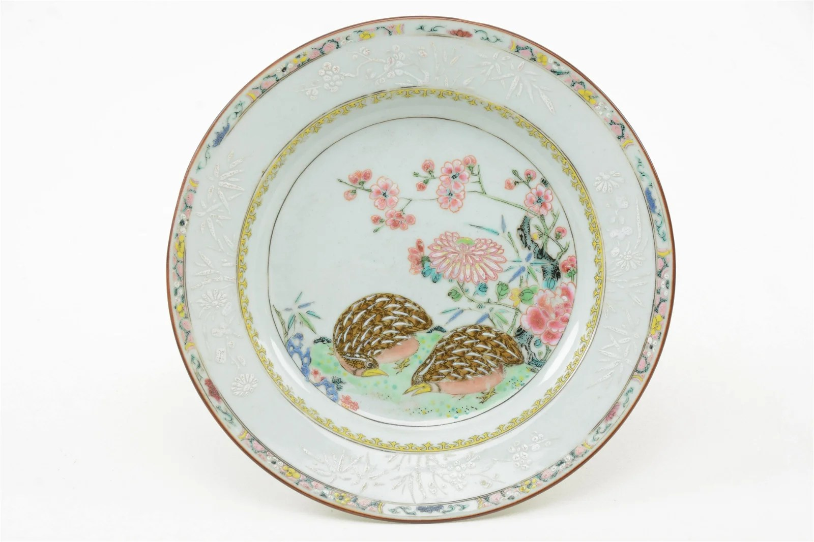 Chinese Porcelain Plate, 18th Century