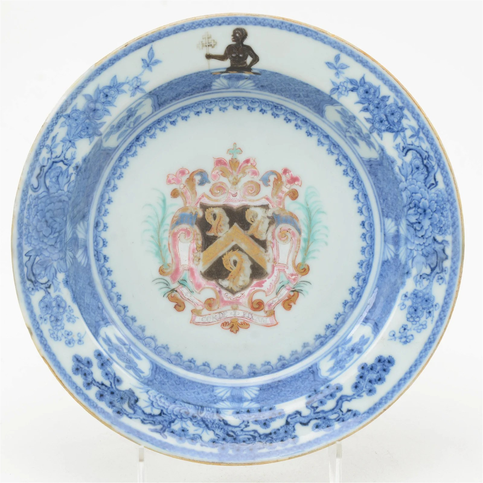 Porcelain Soup Plate, Chinese Export 18th C.
