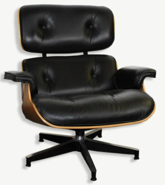 Black Leather Lounge Chair Charles Ray Eames Black Leather Lounge Chair 670 On Liveauctioneers