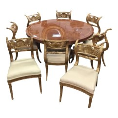 Maitland Smith Dining Chairs Ergonomic Chair Uplift Set Of 8