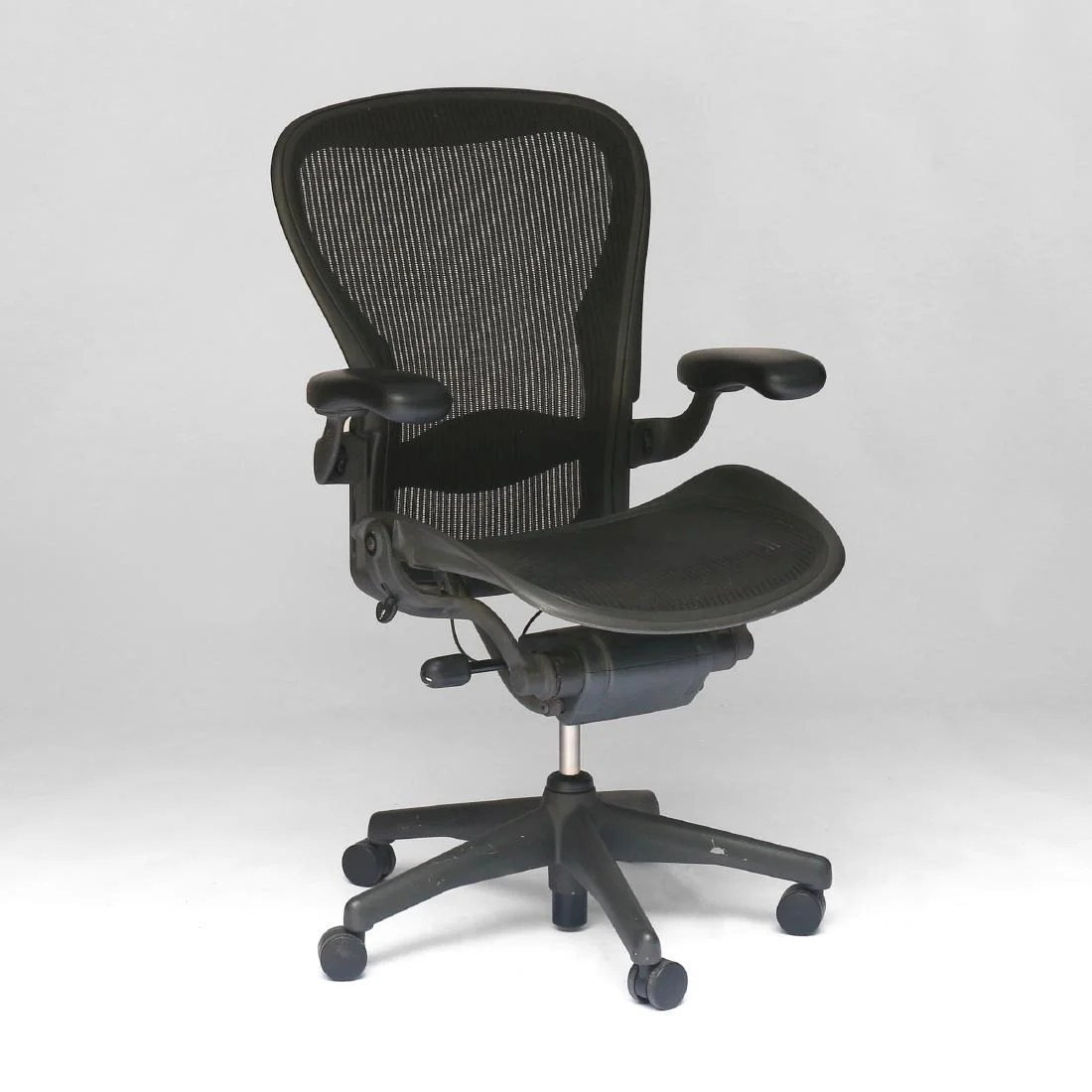 Herman Miller Office Chair Herman Miller Aeron Office Chair On Liveauctioneers