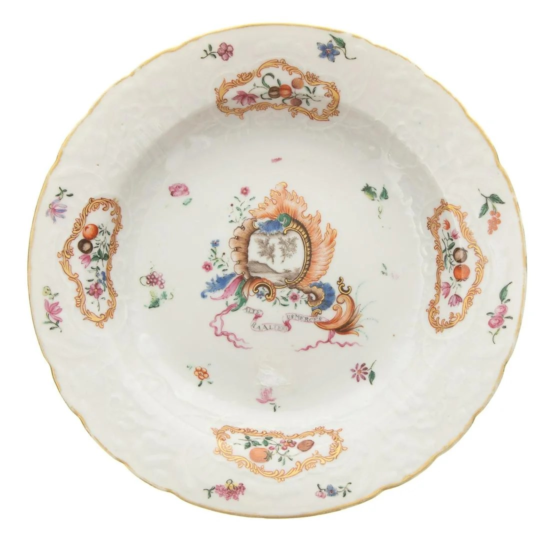 Rare Chinese Export Jesuit Plate