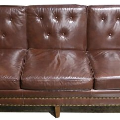 Hickory Chair Leather Couch Michael Guineys Covers Furniture Co Sofa