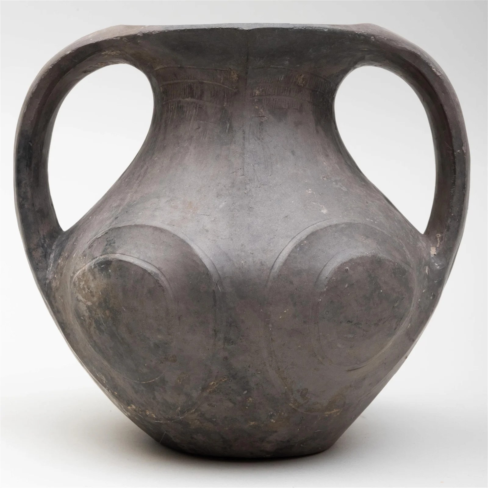 Chinese Grey Pottery Amphora