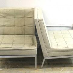 Modern Slipper Chair Ekornes Stressless Chairs Florence Knoll Mid Century