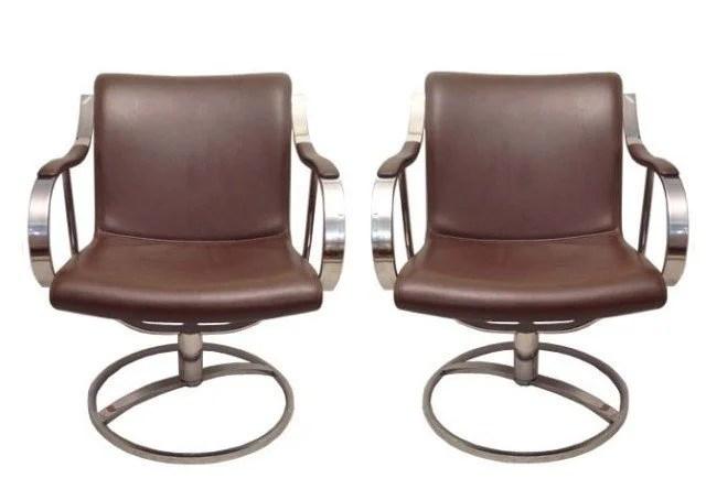 steelcase sofa platner togo ebay pair chairs by warren for 60 70s