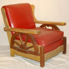 Wagon Wheel Chair Washable Bean Bag Chairs 267 Old Western Ranch Oak Style