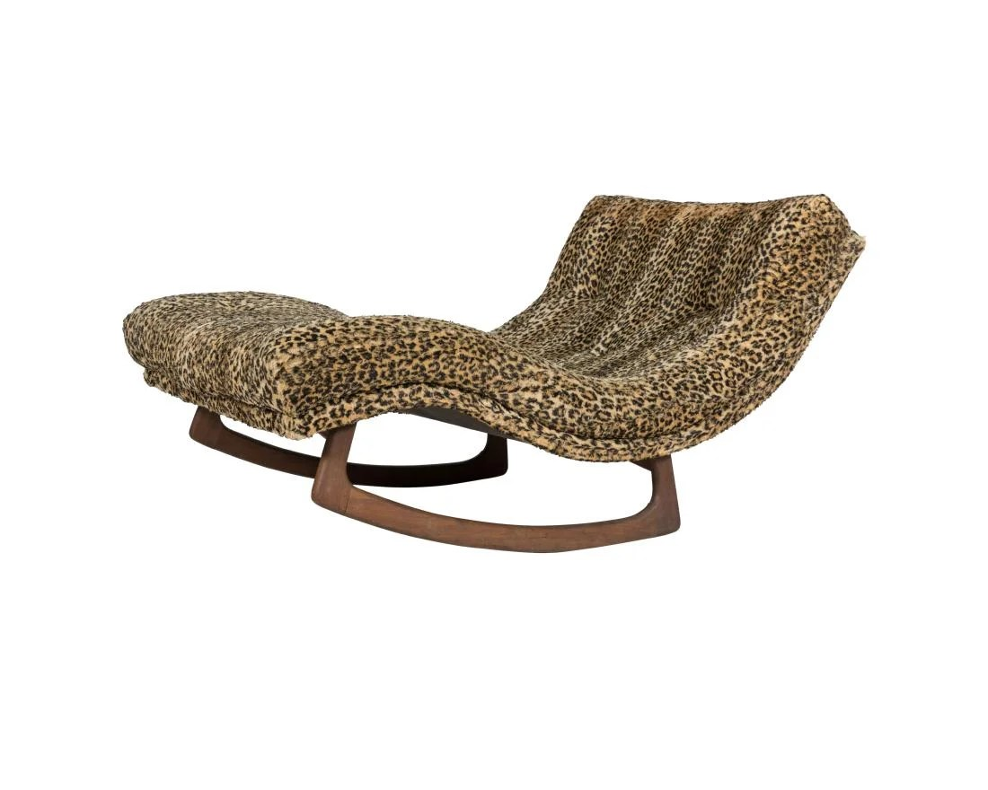adrian pearsall rocking chair new table and chairs craft associates wave rocker